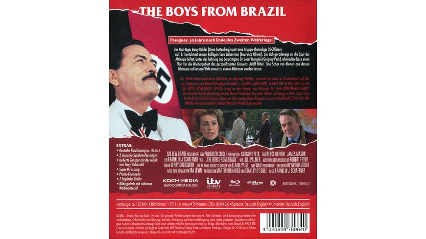 The Boys from Brazil Special Edition
