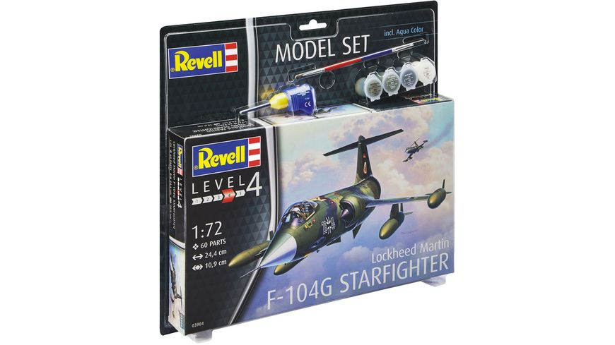 Revell Model Set F 104G Starfighter