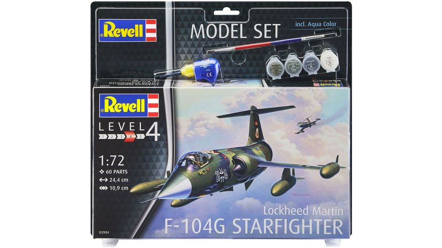 Revell 63904 Model Set Lockheed Martin F 104G Starfighter