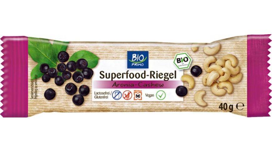 BIO PRIMO Superfood Riegel Aronia Cashew