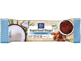 BIO PRIMO Superfood Riegel Kokos Kakao