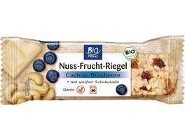 BIO PRIMO Superfood Riegel Cashew Blaubeere