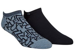 Calvin Klein Herren Sneakersocken all over Logo