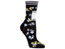 Calvin Klein Jeans Damen Socken mit floralem Muster