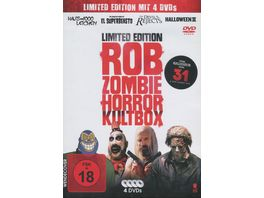 Rob Zombie Horror Kultbox Limited Edition 4 Movie Box 4 DVDs