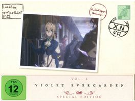 Violet Evergarden St 1 Vol 4 Limited Special Edition