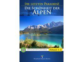 Die letzten Paradiese Die Schoenheit der Alpen Folge 1 3 3 DVDs