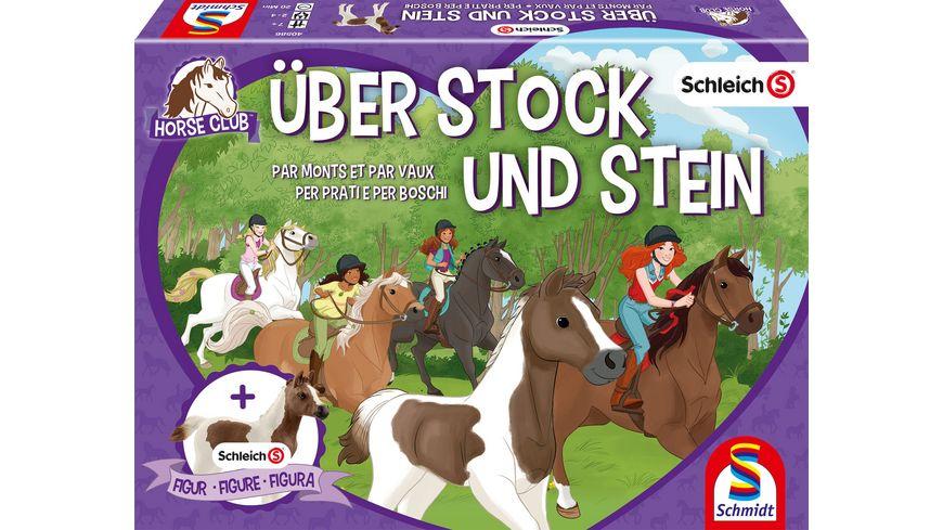 Schmidt Spiele Schleich Ueber Stock und Stein