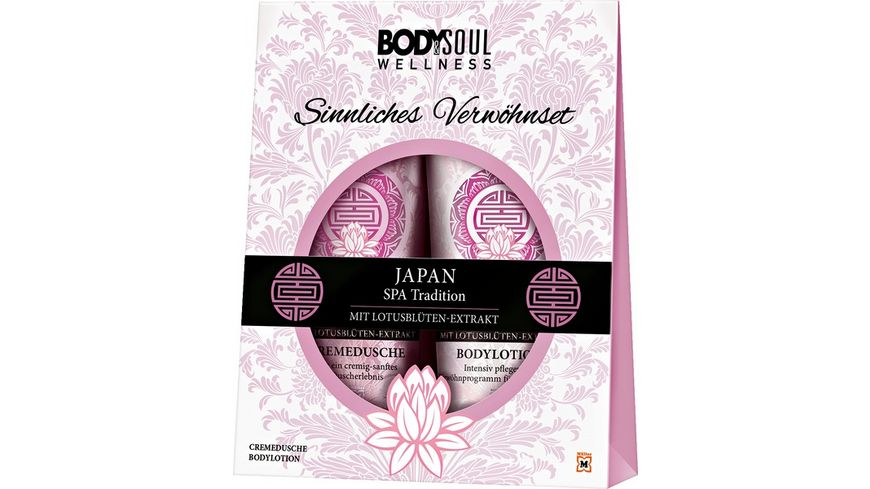 BODY SOUL JAPAN Geschenkset