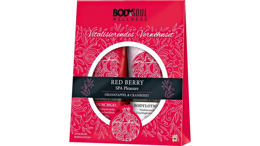 BODY SOUL RED BERRY Geschenkset