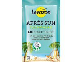 LAVOZON Apres Sun Tuchmaske