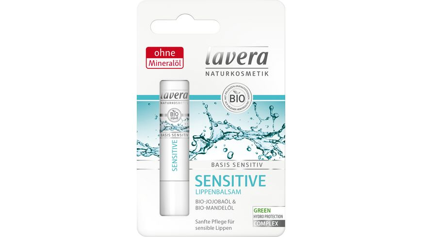 lavera basis Sensitive Lippenbalsam
