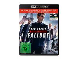 Mission Impossible 6 Fallout 4K Ultra HD Blu ray 2D Bonus Blu ray