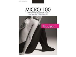 Hudson Damen Feinstrumpfhose Micro 100 DEN