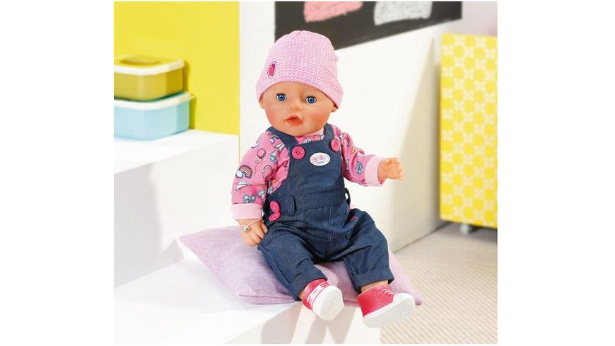 Zapf Creation Baby born Soft Touch Jeans Girl