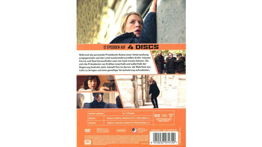 Homeland Season 7 4 DVDs