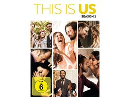 This is us Season 2 5 DVDs