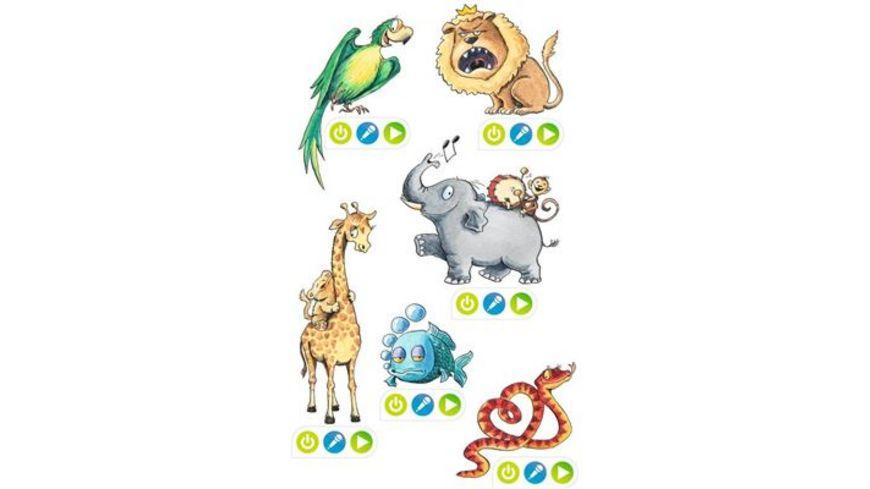 Ravensburger Spiel tiptoi CREATE Sticker Lustige Tiere