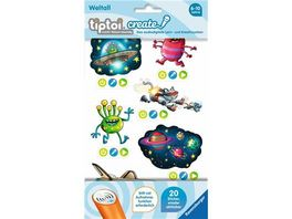 Ravensburger tiptoi Create Sticker Weltall