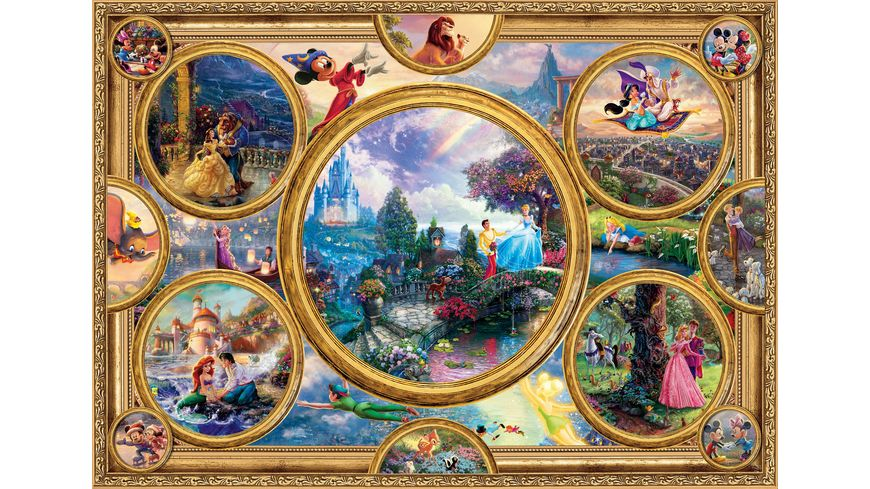 Schmidt Spiele Disney Dreams Collection 2000 Teile