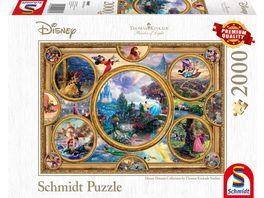 Schmidt Spiele Disney Dreams Collection 2000 Teile