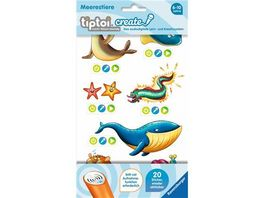 Ravensburger tiptoi Create Sticker Meerestiere