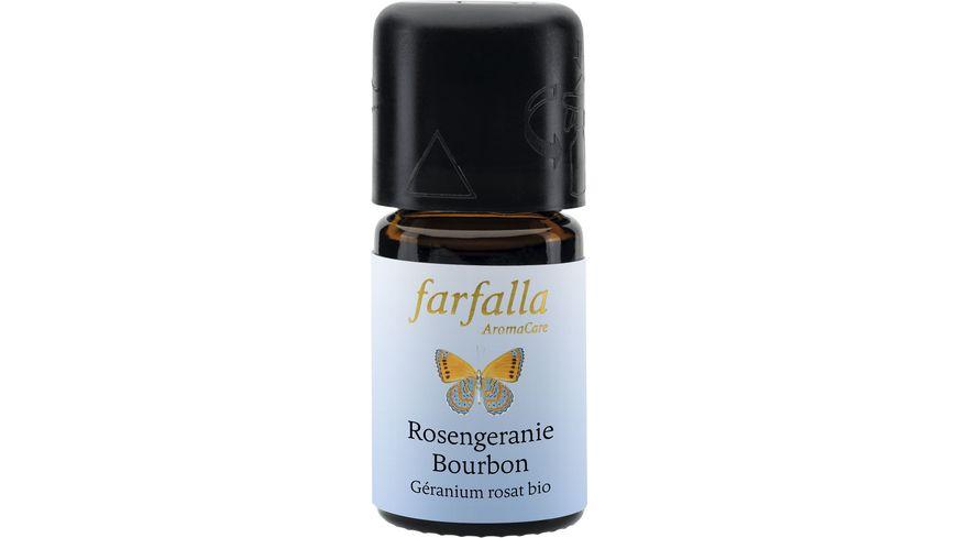 Farfalla Rosengeranie Bourbon bio