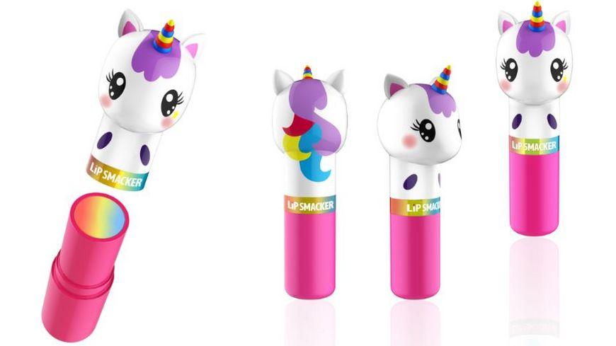 LiP SMACKER Lippy Pals Lippenpflegestift mit Einhorn Kopf unicorn magic Geschmack