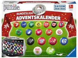 Ravensburger Puzzle 3D Puzzle Ball Adventskalender Bundesliga Saison 2018 2019