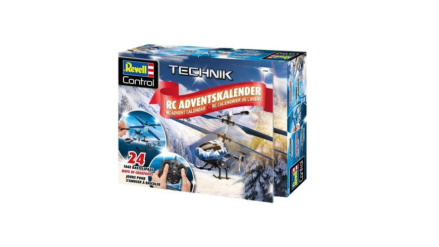 Revell Weihnachtskalender.Revell Control 01020 Rc Adventskalender Hubschrauber