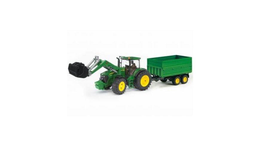 Spielzeugautos & Zubehör Bruder John Deere Traktor mit Zwillingsbereifung günstig kaufen