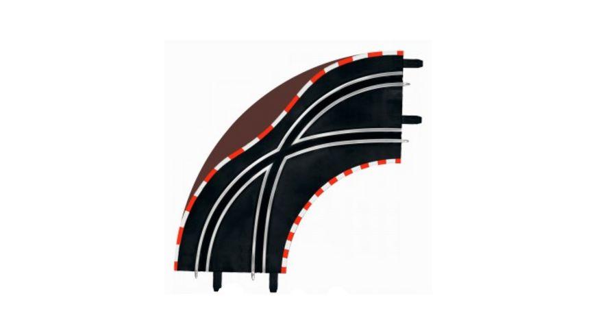Carrera GO Spurwechselkurve K1 90