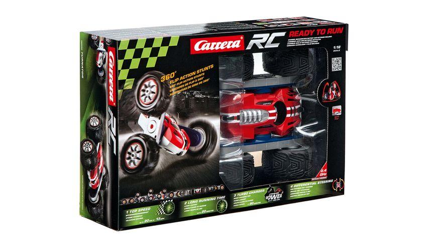 Carrera RC Turnator flip over