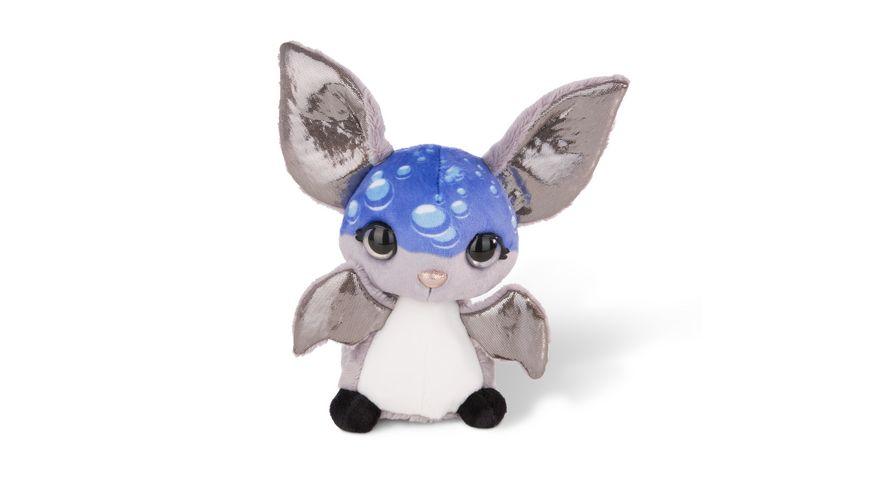 NICIdoos Flashies Kuscheltier Fledermaus Pipp mit LED Augen 16 cm