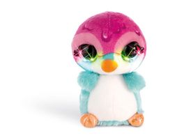 NICIdoos Flashies Kuscheltier Pinguin Deezy mit LED Augen 12 cm