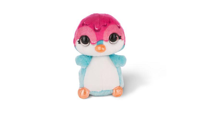 NICIdoos Flashies Kuscheltier Pinguin Deezy mit LED Augen 16 cm