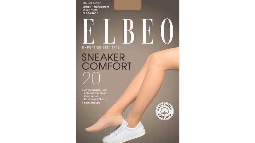 ELBEO Damen Strumpfhosen Sneaker Comfort 20