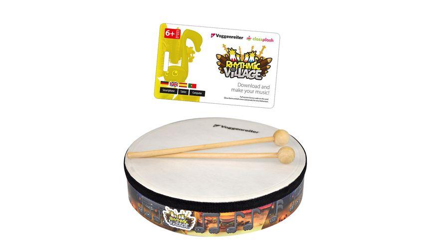Voggenreiter - Rhythmic Village Set mit Handtrommel