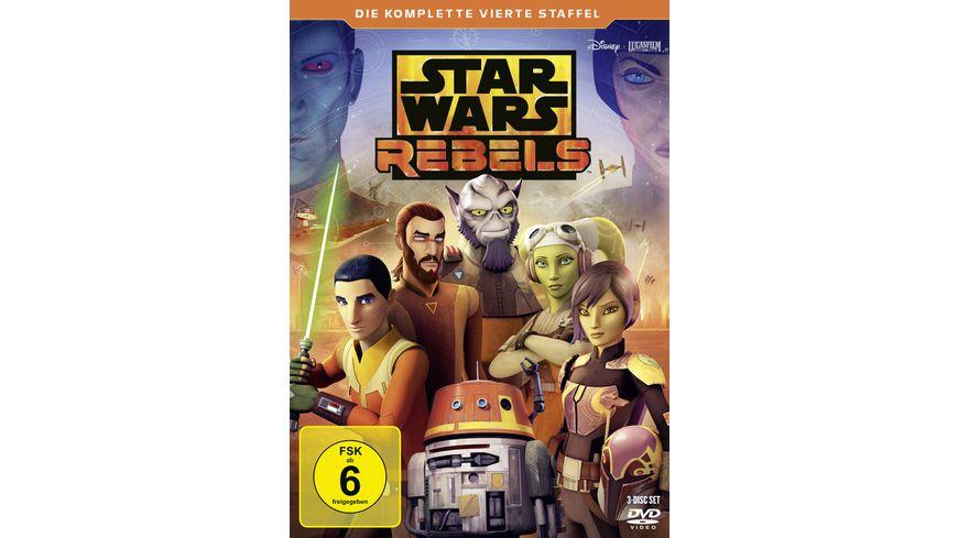 Star Wars Rebels Die komplette vierte Staffel 3 DVDs