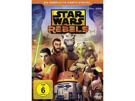 Star Wars Rebels Die komplette vierte Staffel 3 DVDs