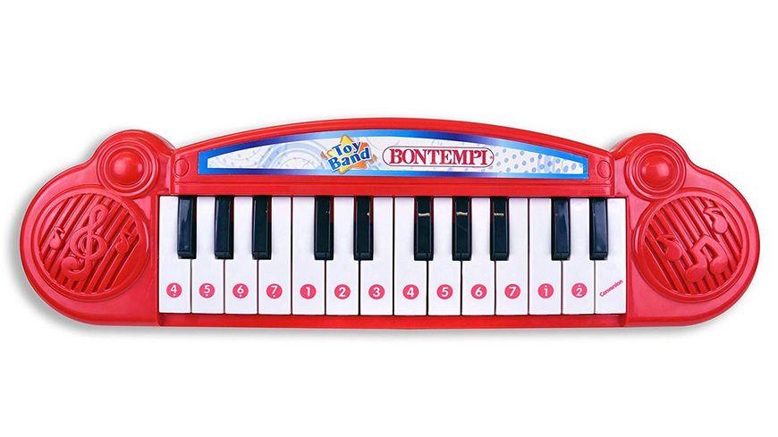 Bontempi Elektronik Tisch Keyboard mit 24 Tasten