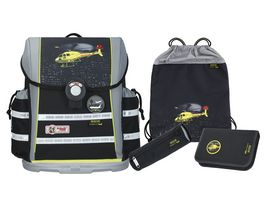 McNeill Schulranzen Set 4teilig Ergo Light 912 S Rescue