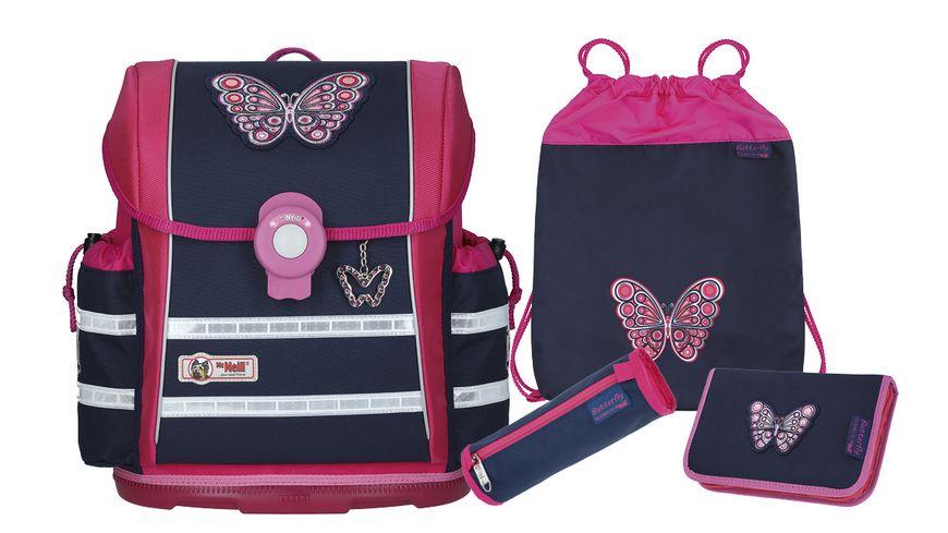 McNeill Schulranzen Set 4teilig Ergo Light 912 S Butterfly