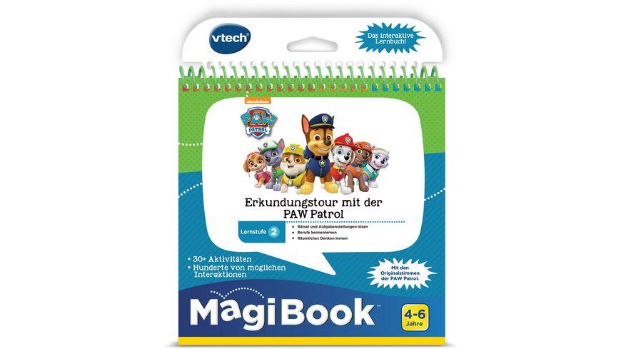 VTech MagiBook Lernstufe 2 Erkundungstour mit der PAW Patrol