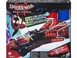 Hasbro Avengers Spider Man Miles Morales Mega Blast Web Shooter mit Handschuh