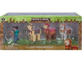 Jazwares Minecraft Steve mit Lama Karavanen Pack
