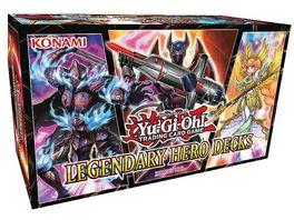 Yu Gi Oh Sammelkartenspiel Yu Gi Oh Legendary Hero Decks