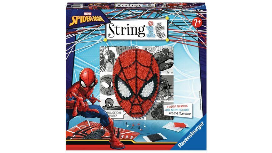 Ravensburger Beschäftigung String It Midi Lizenz Marvel Spiderman
