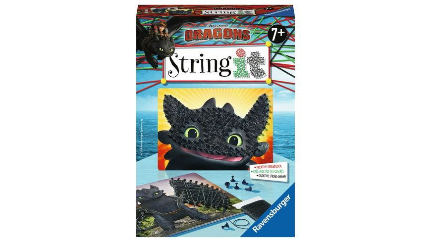 Ravensburger Beschaeftigung String it Mini DreamWorks Dragons
