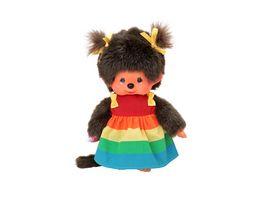Monchhichi Maedchen Regenbogen